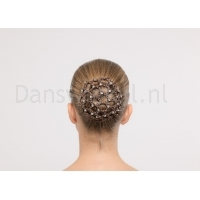 Dansez-Vous Bun Covers met strass brown