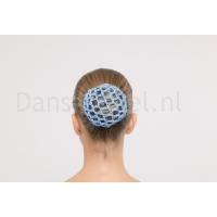 Dansez-Vous Bun Covers met strass light blauw