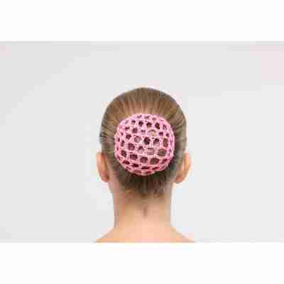 Dansez-Vous gehaakte haarnetjes roze