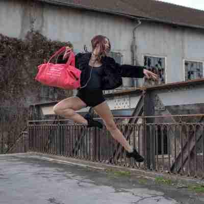 Dansez-Vous Paolo Canvas Danstas met Ballettekst Voorbeeld