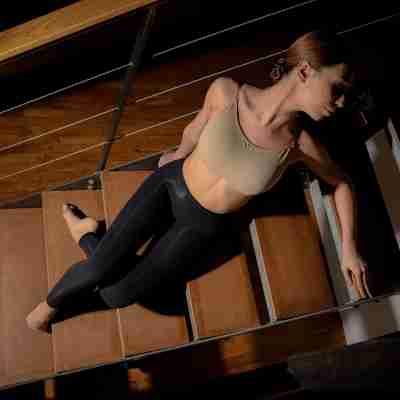Dansez-Vous balletmaillot zwart zonder voet voor kinderen