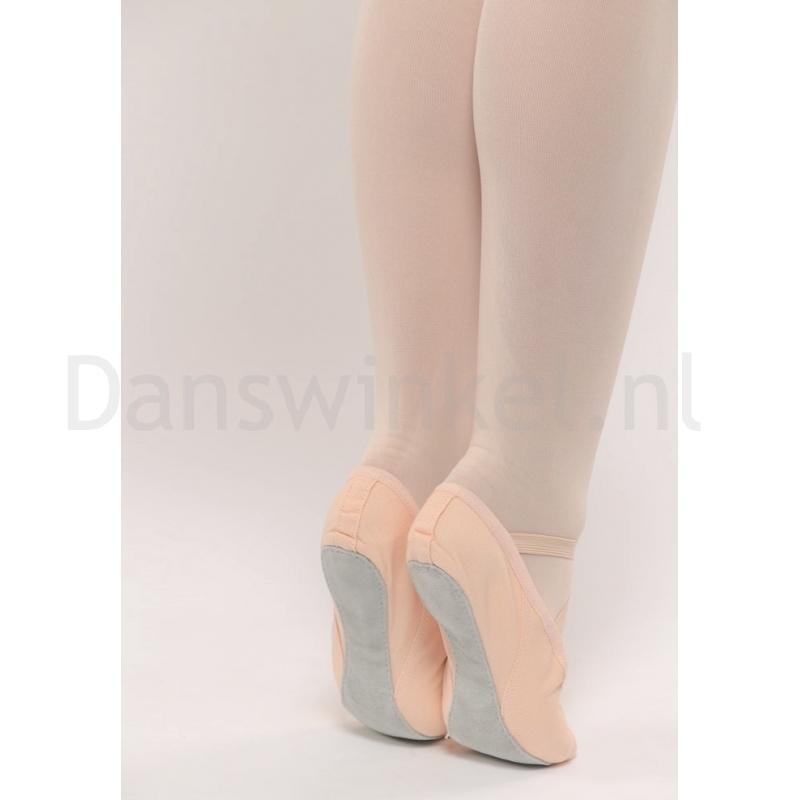 Dansez-Vous Lili canvas balletschoenen met splitzool voor volwassenen