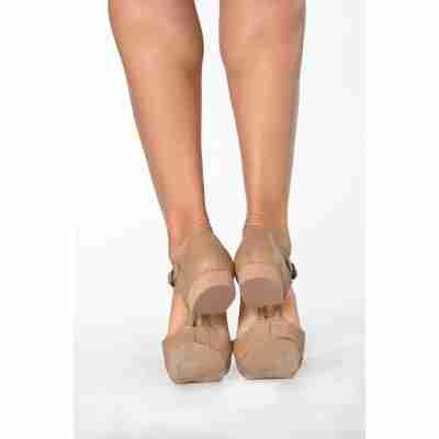 Dansez-Vous Eva Professor shoes JazzSchoenen nude