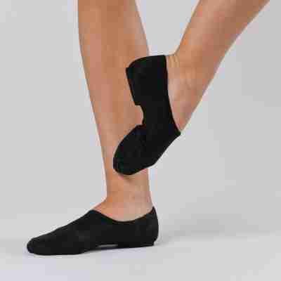 Dansez-Vous Jazz schoenen Jueni zwart instapmodel