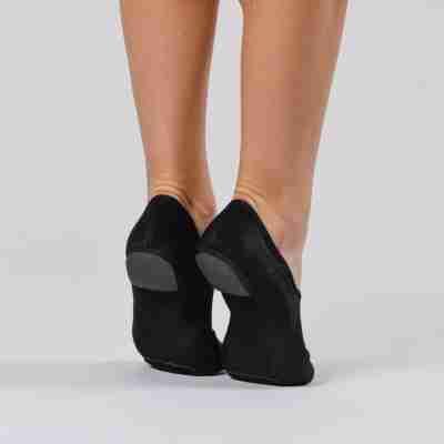 Dansez-Vous Jazz schoenen Jueni zwart met rubberen hak