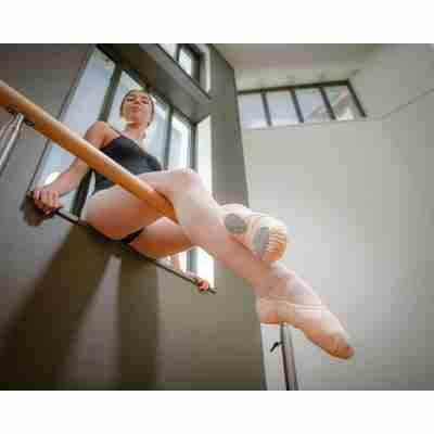 Dansez-Vous Vanie Elastische Balletschoenen Voorbeeld