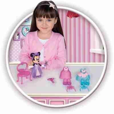 imc IM182172 minnie mouse speelset prinses fashion fun doll