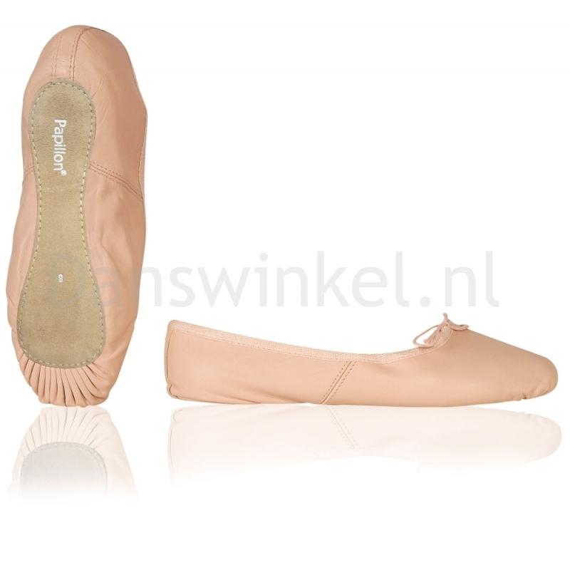 Papillon Balletschoenen met Doorlopende Zool PA1000