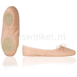 Papillon Kinder Balletschoenen Leer met Splitzool PK1002