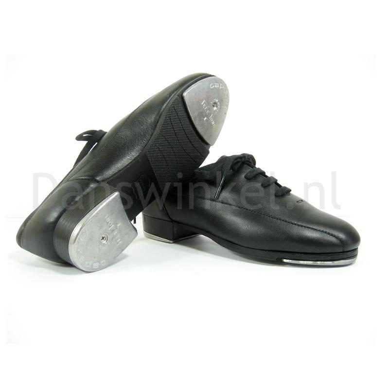 zwarte tapschoenen van capezio