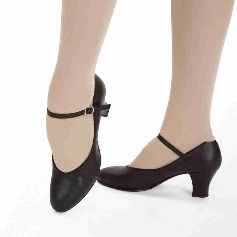 Capezio Student Footlight Character Dansschoenen 650 voor Dames