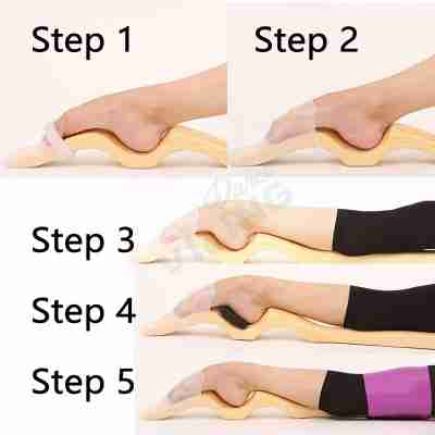 6 delige set Techdance Ballet Foot Stretch TH-101