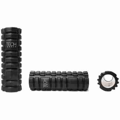 Techdance zwarte foam roller fitness massage