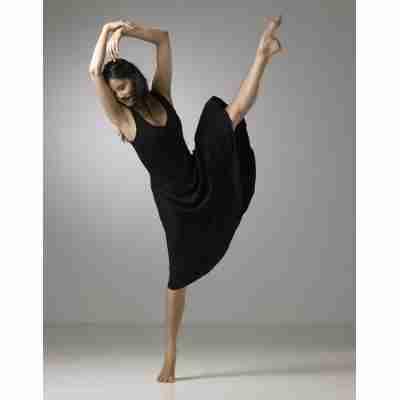 Temps Danse Veritable zwarte dames jurk modern
