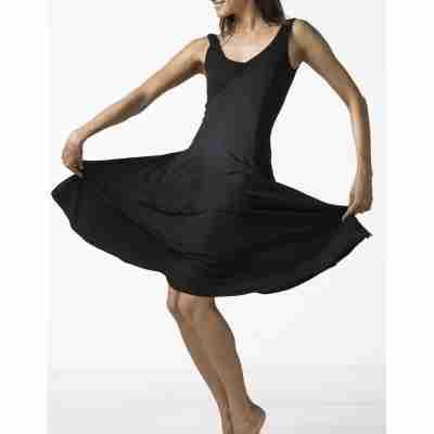 Temps Danse Veritable zwarte dansjurk wijde rok