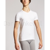 Temps Danse heren T-shirt Oliver wit