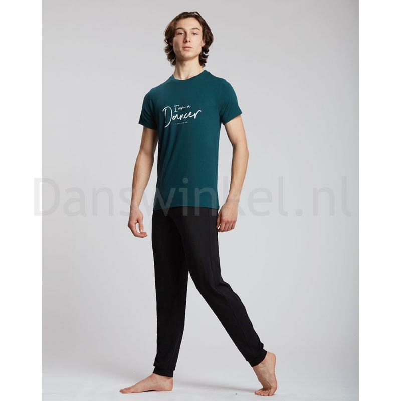 Temps Danse Heren T-shirt Orian I Am evergreen