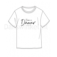 Temps Danse Heren T-shirt Orian I Am ontwerp