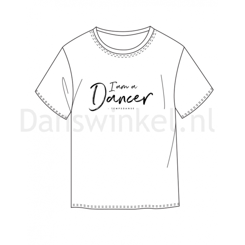 Temps Danse Heren T-shirt Orian I Am teken