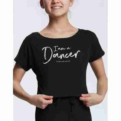 Temps Danse Meisjes Dans Top Agile Jr. I Am