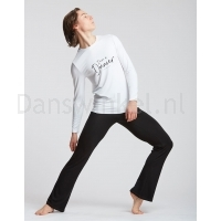 Temps Danse Heren T-shirt Orchis I Am wit pose