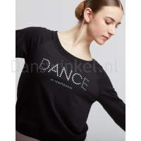 Temps Danse Dans Sweater Talia JR Dots zwart