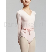 Roze cross-over voor ballet dames temps danse vigueur