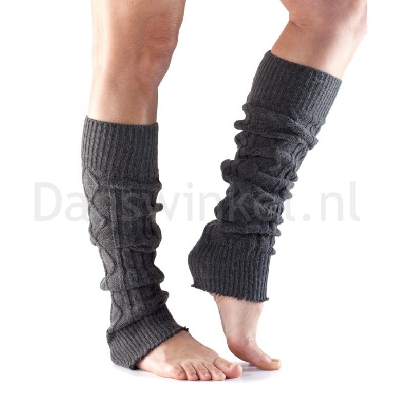 ToeSox Leg Warmer zwart zijkant