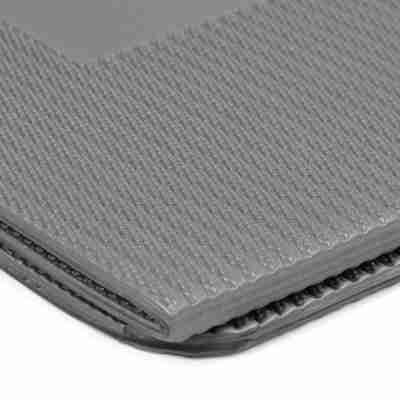 ToeSox Pro Stretch Tri-Fold Aerobic Mat grijs zijkant