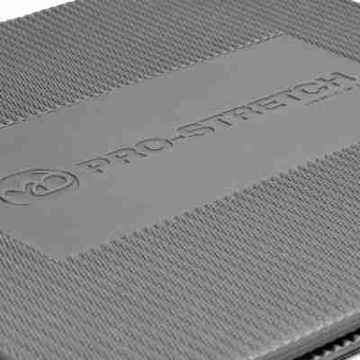 ToeSox Pro Stretch Tri-Fold Aerobic Mat grijs bovenkant