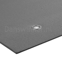 ToeSox Warrior Eyelet Yoga Mat II 4mm zijkant