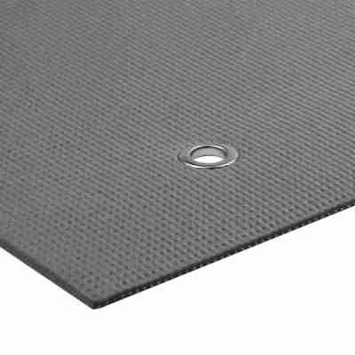 ToeSox Warrior Eyelet Yoga Mat II 4mm zijkant