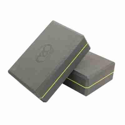 ToeSox 369 Yoga Block grijs voorbeeld