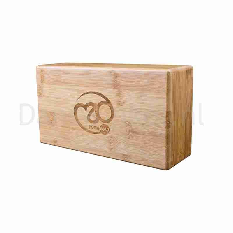 Eco-vriendelijk yogablok - Gelamineerd bamboe - Licht van gewicht - Duurzaam - ToeSox Hollow Bamboo Yoga Brick