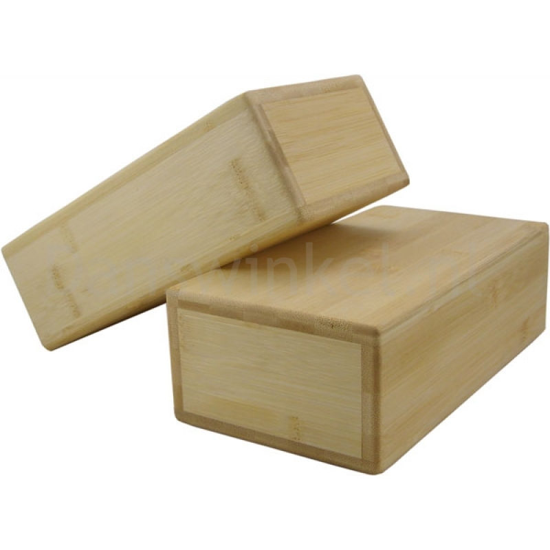 ToeSox Hollow Bamboo Yoga Brick voorbeeld