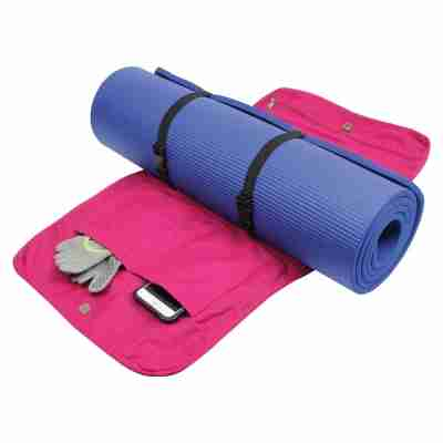 ToeSox Yoga And Pilates Mat Carry Bag open