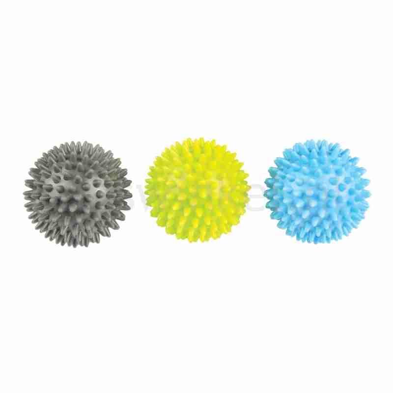 Set van 3 massageballen - Verschillende hardheden - PVC materiaal - ToeSox Spikey Trigger Ball Trio