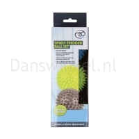ToeSox Spikey Trigger Ball Trio voorbeeld