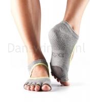 ToeSox Danse Sokken Plie Grijs