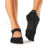 ToeSox Full Toe Prima Bellarina Black