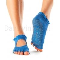 ToeSox Half Toe Bella Antislip sokken voor Yoga en Pilates open teen
