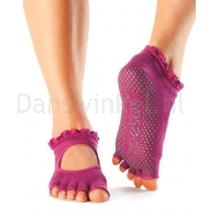 ToeSox Half Toe Bella Sokken Roze