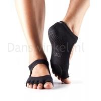 ToeSox Danse Sokken Plie Black