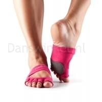 ToeSox Danse Sokken Releve Half Roze