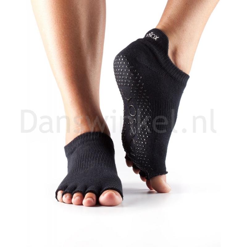 ToeSox Half Toe Low Rise Antislip Sokken met Open Teen
