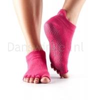 ToeSox Half Toe Low Rise Grip Sokken