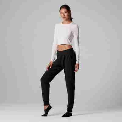 ToeSox dames Arabesque top in Blush tavi noir collectie voor pilates yoga dans sport