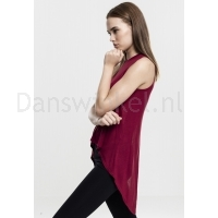 Urban Classics Ladies HiLo Viscose Top