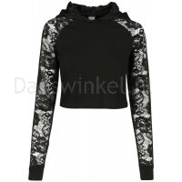 Urban Classics Ladies Short Laces Hoody