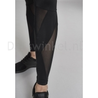 Urban Classics Ladies Triangle Tech Mesh Leggings